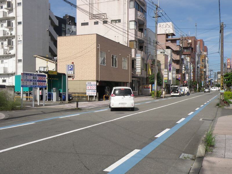 恵比寿通り周辺の駐車場
