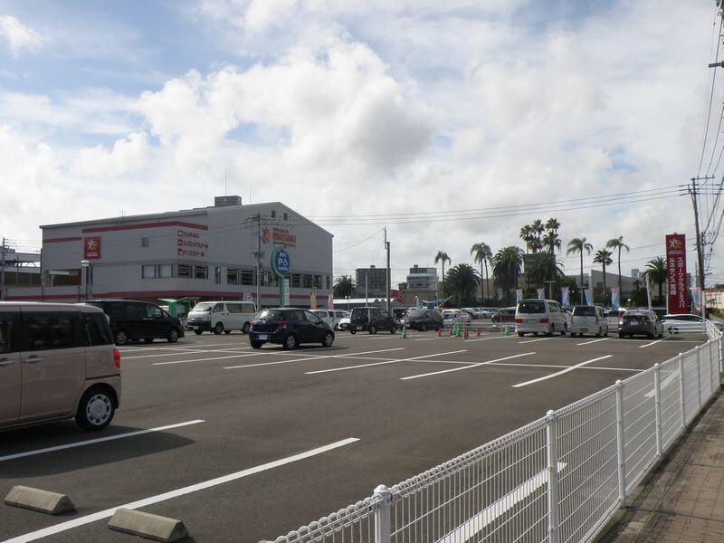 宮崎駅東口駐車場