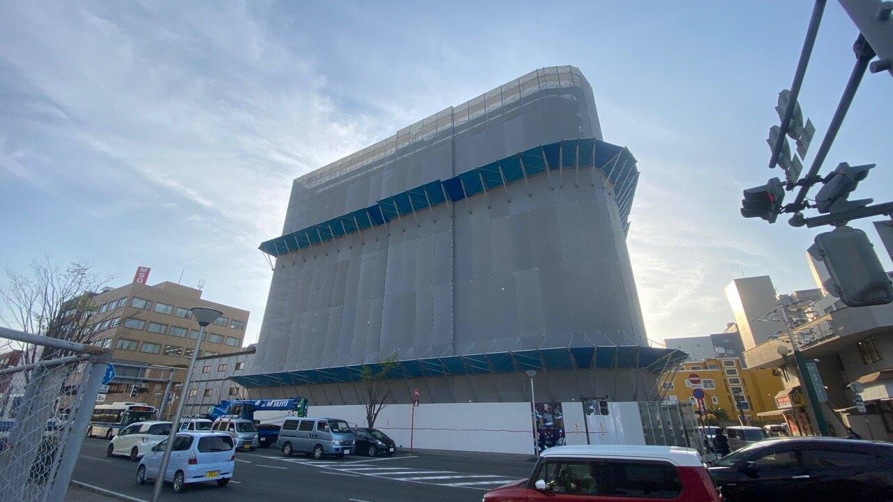 2020年3月の広島用地 アミュプラザ宮崎