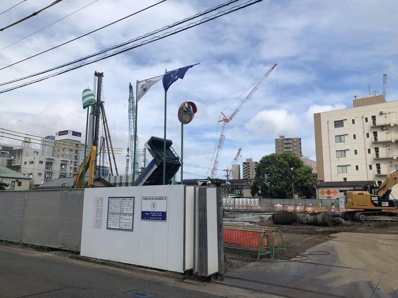 アミュプラザ宮崎駐車場計画地