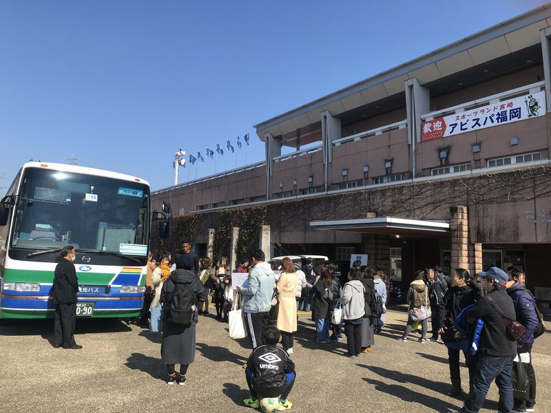 アビスパ福岡宮崎キャンプ2019