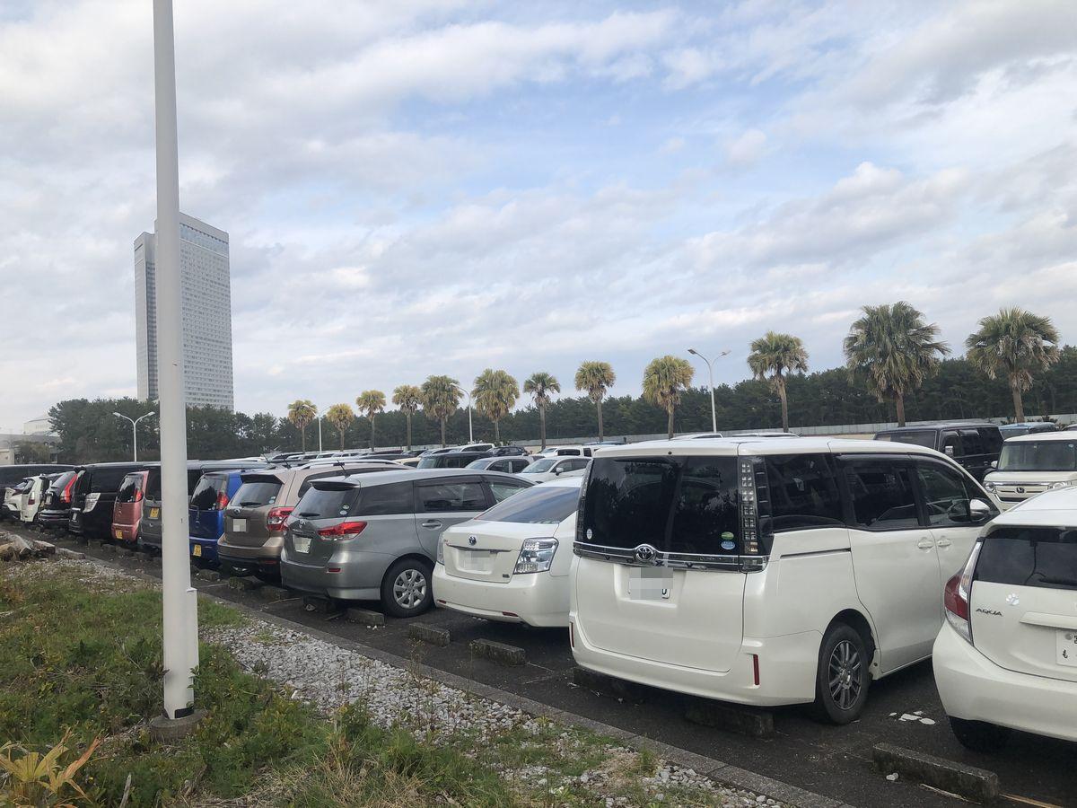セレッソ大阪宮崎キャンプ 駐車場
