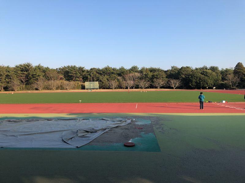 KIRISHIMAヤマザクラ宮崎県総合運動公園 第3陸上競技場