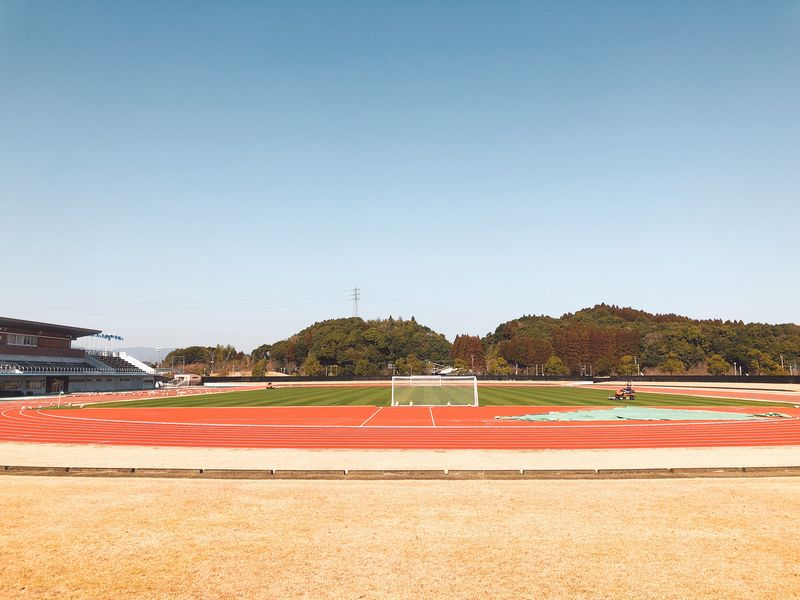 アビスパ福岡宮崎キャンプの場所 生目の杜運動公園陸上競技場