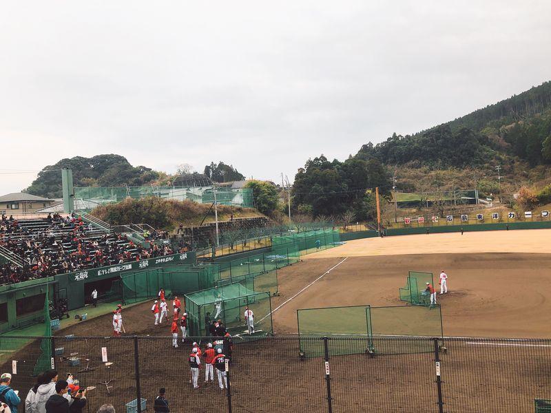 広島東洋カープ日南秋季キャンプ2019