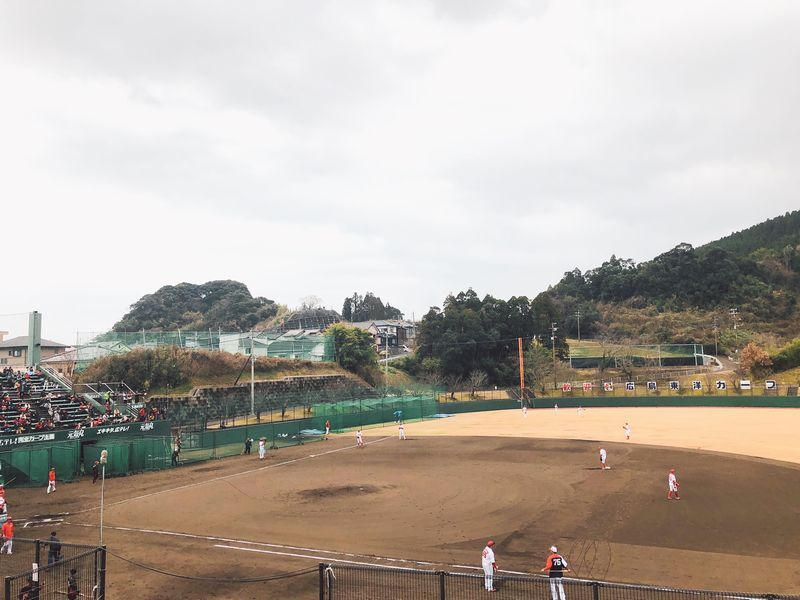 広島東洋カープ日南秋季キャンプ