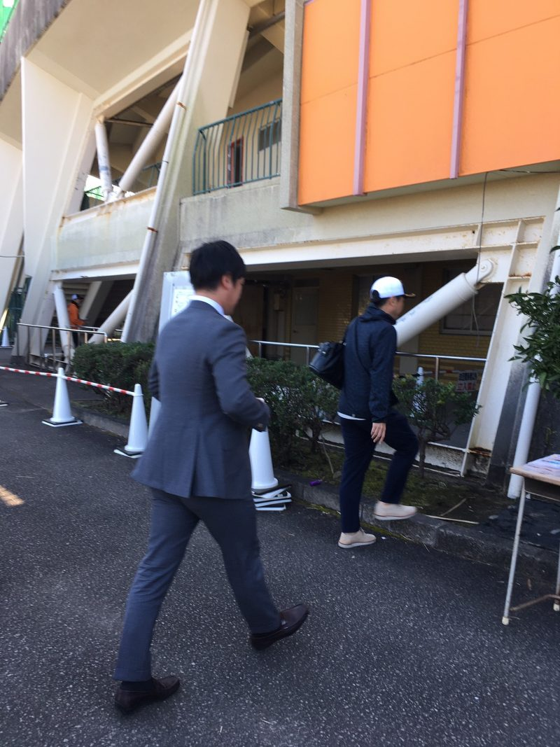 巨人宮崎春季キャンプ2020 辻岡義堂アナウンサー