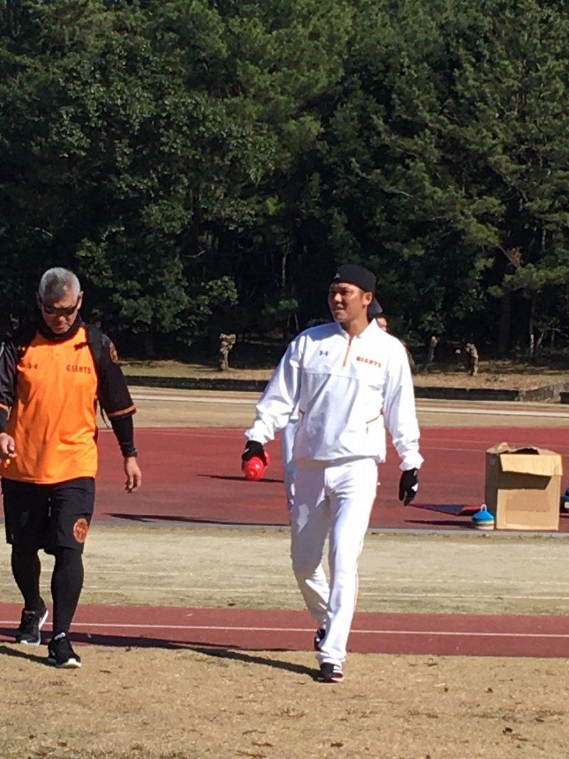巨人宮崎春季キャンプ2020 坂本勇人選手