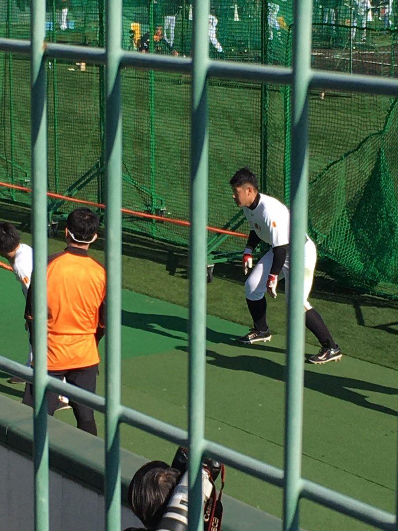 巨人宮崎春季キャンプ2020 岡本和真選手