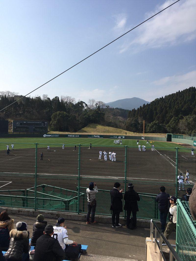 オリックスバファローズ宮崎キャンプ SOKKENスタジアム