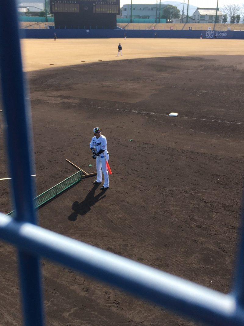 埼玉西武ライオンズ南郷春季キャンプ2020 金子侑司のバント練習