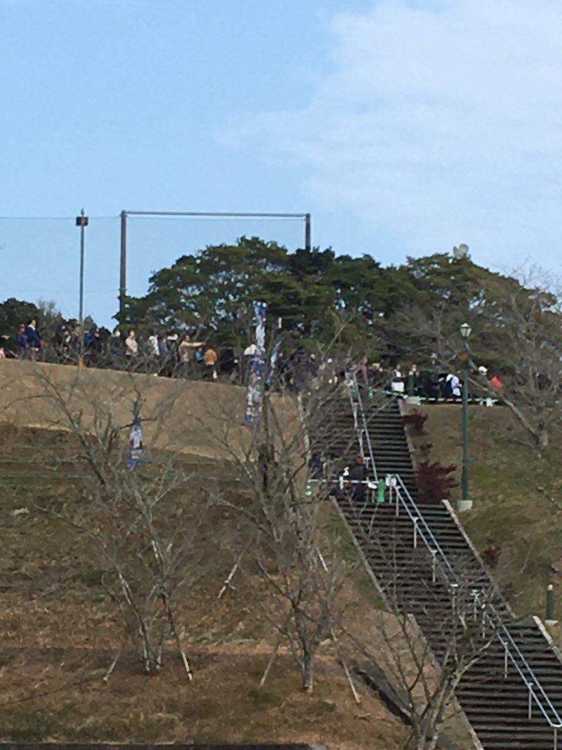 埼玉西武ライオンズ南郷春季キャンプ2020 サインを求める長い列