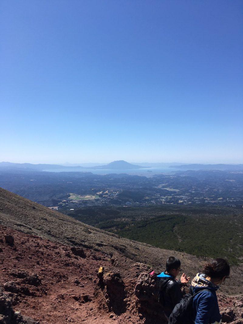 高千穂峰登山 最初の難所