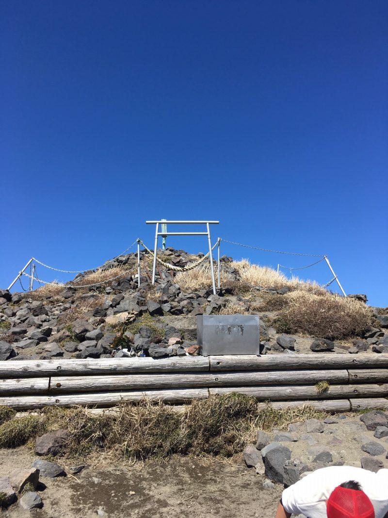 高千穂峰山頂 天の逆鉾